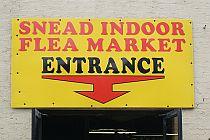 Snead Indoor Flea Market front entrance